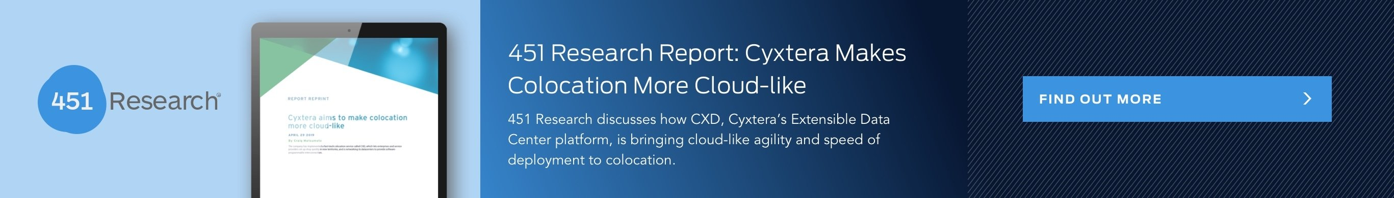 Cyxtera named a strong performer in the q4 2018 Forrester Wave