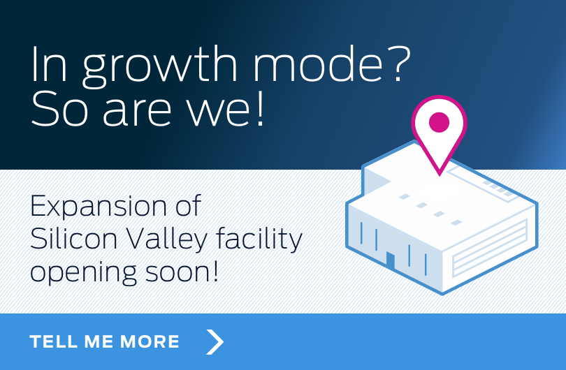New data center in Silicon Valley